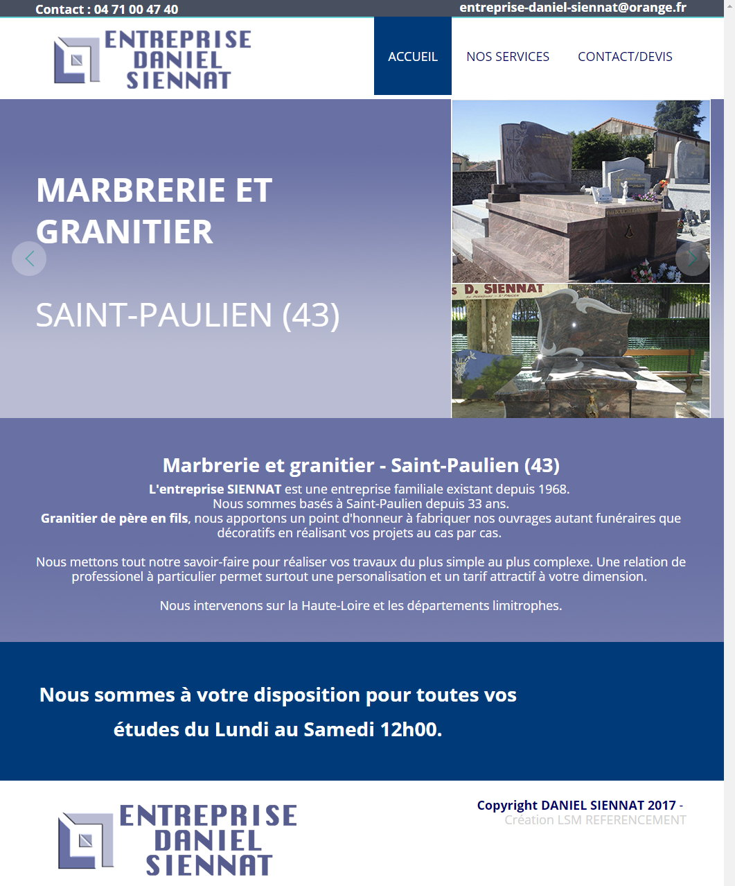 Design Creation Le Puy En Velay monument funéraire puy en velay daniel siennat 175